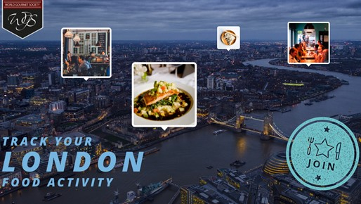 Track your London food activity