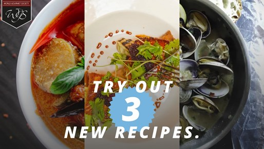 Try out three new recipes